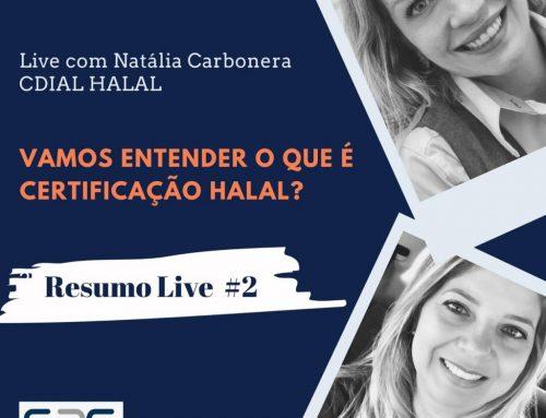 """Resumo da Live #2 """"Projeto S2G Convida"""": Vamos entender o que é certificação Halal?"""